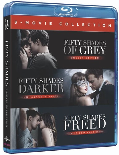 Fifty Shades 1-3 bluray box