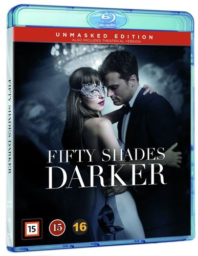 Fifty Shades Darker bluray UTGÅENDE