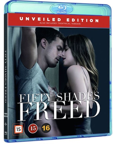 Fifty Shades Freed bluray UTGÅENDE