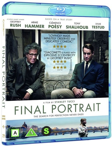 Final Portrait bluray