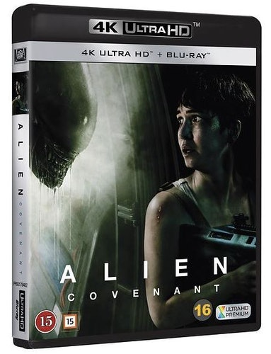 Alien Covenant 4K UHD bluray