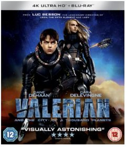 Valerian And The City Of A Thousand Planets 4K Ultra HD bluray (import)