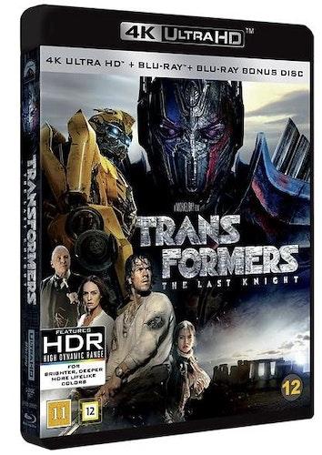 Transformers: The Last Knight (UHD+BD) 4K