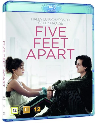 Five Feet Apart bluray