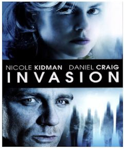 The Invasion bluray (import)