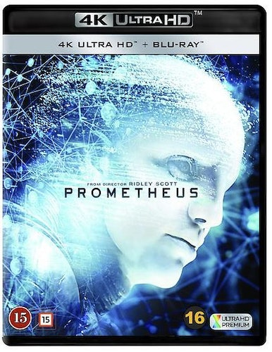 Prometheus (4k) (UHD) (2-disc) bluray