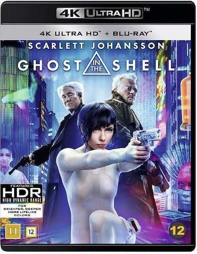 Ghost in the Shell (4k) (UHD) (2-disc) bluray