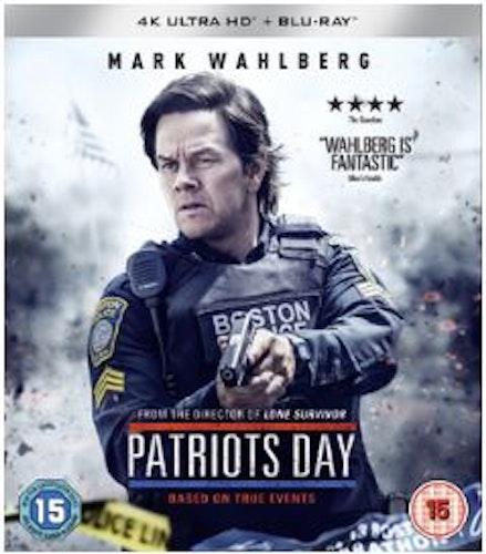 Patriots Day 4K Ultra HD + Blu-Ray (import)