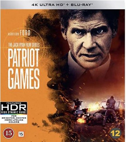 Patriot Games (UHD+BD) 4K