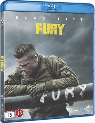 Fury bluray
