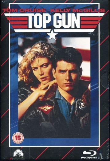 Top Gun - Limited Edition VHS Collection DVD + Bluray Specialutgåva (import med svensk text)