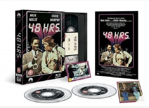 48 Hours - Limited Edition VHS Collection DVD + Bluray specialutgåva (import)