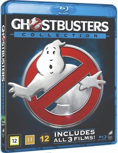 Ghostbusters (1984) + Ghostbusters II + Ghostbusters (2016) bluray