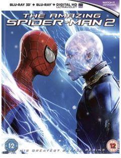 Spiderman - The Amazing Spiderman 2 3D bluray (import med svensk text)