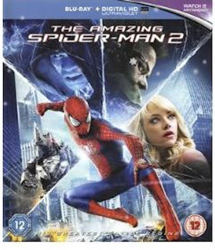The Amazing Spiderman 2 bluray (import med svensk text)