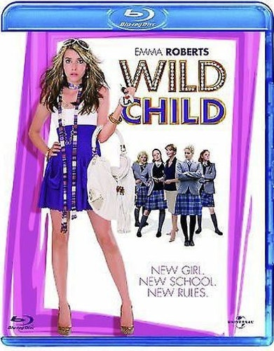 Wild child bluray (import med svensk text)