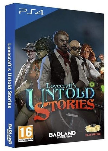 Lovecraft's Untold Stories - Collector's Edition (PS4)