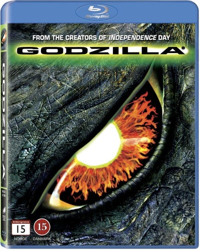 Godzilla (1998) bluray