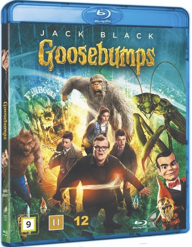 Goosebumps bluray