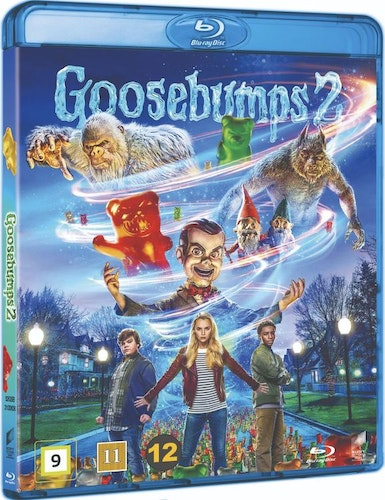 Goosebumps 2: Haunted Halloween bluray