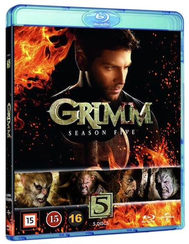 Grimm - Season 5 bluray UTGÅENDE