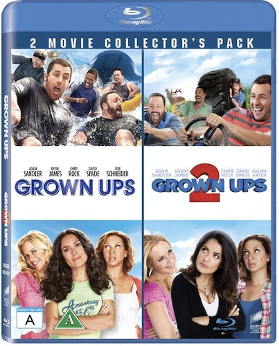 Grown Ups 1 & 2 bluray