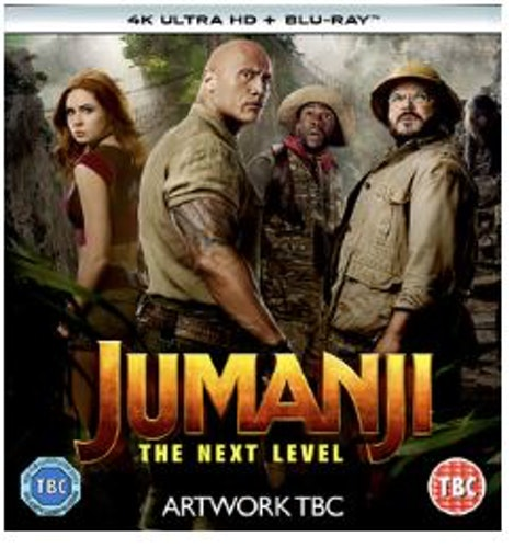 Jumanji - The Next Level 4K Ultra HD + Blu-Ray