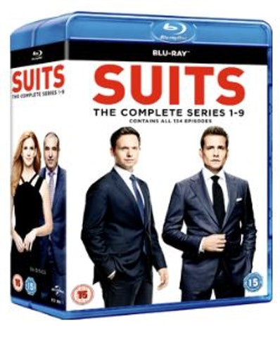 Suits säsong 1-9 bluray (import)