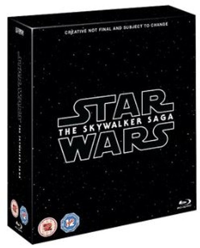 Star Wars - The Skywalker Saga Complete Collection Blu-Ray (import)