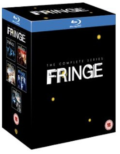 Fringe Seasons 1 to 5 Complete Collection Blu-Ray (import)