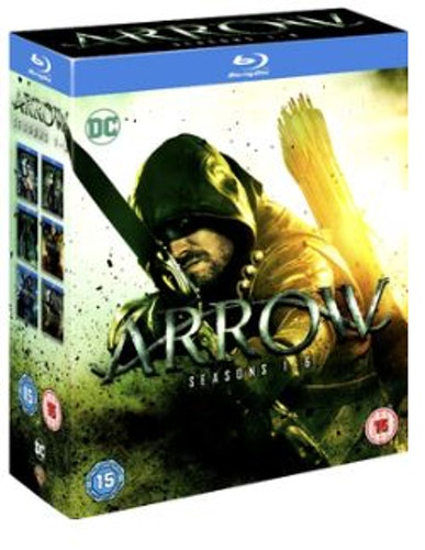 Arrow Seasons 1 to 6 Blu-Ray (import)