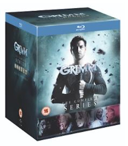 Grimm Seasons 1 to 6 Complete Collection bluray (import med svensk text)