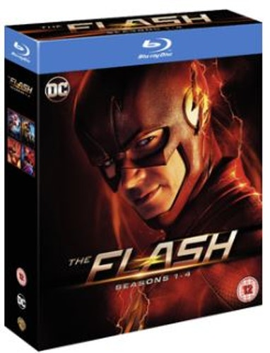 The Flash Seasons 1 to 4 Blu-Ray (import)