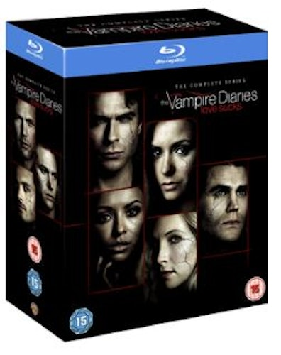 The Vampire Diaries Seasons 1 to 8 Blu-Ray (import)