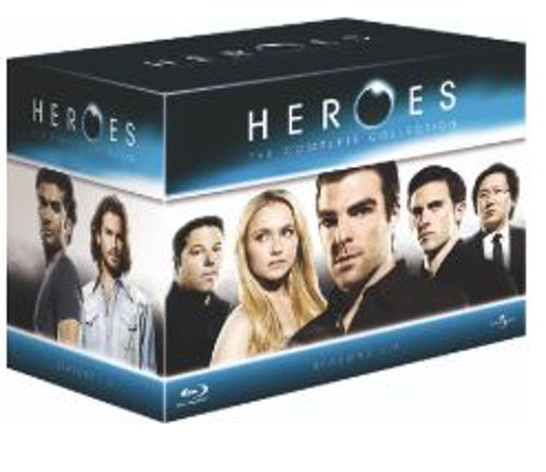 Heroes Seasons 1 to 4 & Heroes Reborn Blu-Ray (import)
