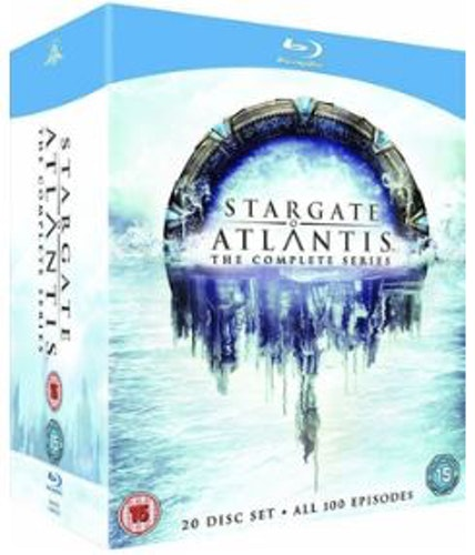 Stargate Atlantis - The Complete Series (UK) bluray