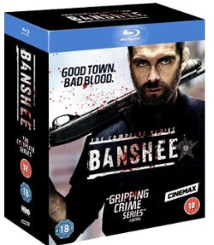 Banshee Seasons 1 to 4 Complete Collection Blu-Ray (import Sv text)