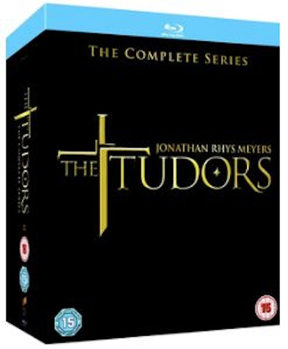 The Tudors Seasons 1 to 4 Complete Collection Blu-Ray (import)
