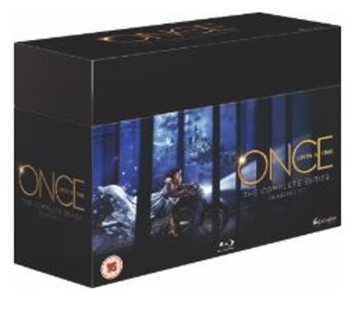Once Upon a Time - The Complete Series (import) bluray