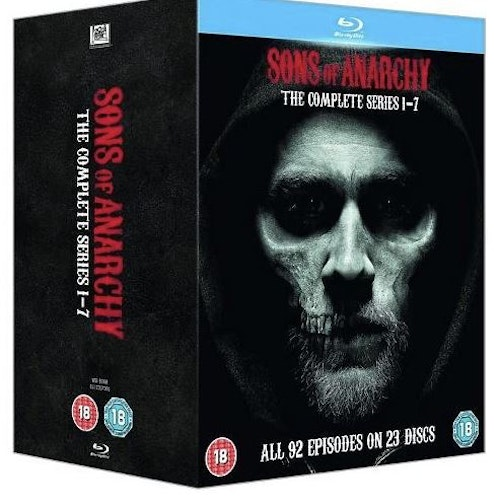 Sons of Anarchy - The Complete Series bluray (import)