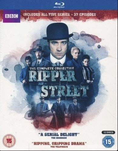 Ripper Street Series 1 to 5 Complete Collection Blu-Ray (import)