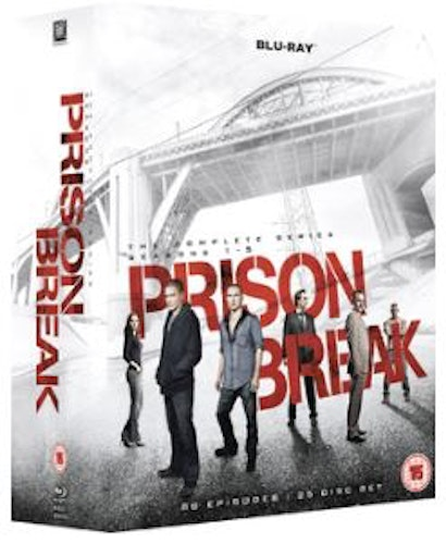 Prison Break Seasons 1 to 5 Complete Collection Blu-Ray (import)