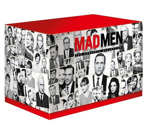 Mad Men Seasons 1 to 7 Complete Collection DVD (import)