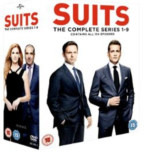Suits Season 1 to 9 DVD (import)