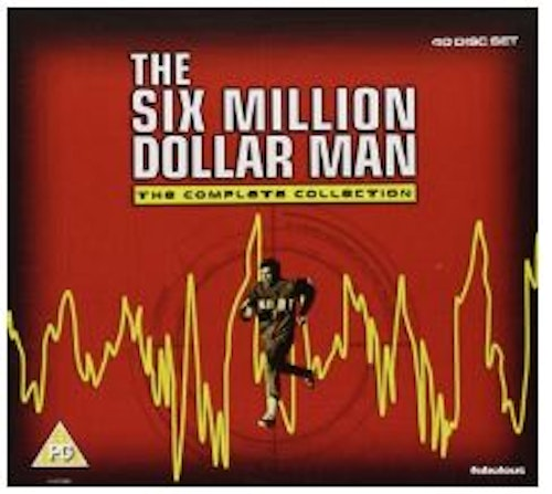 The Six Million Dollar Man - The Complete Collection (import) DVD