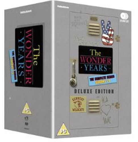 Wonder years (En härlig tid) - Complete series (26-disc) (Import) DVD