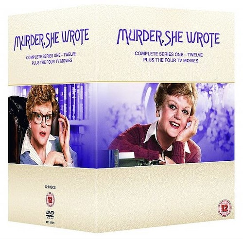Murder She Wrote/mord och inga visor - Series 1-12 (72-disc) (Import) DVD