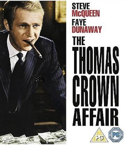The Thomas Crown Affair (1968) (import) bluray