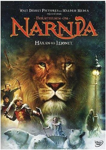 Berättelsen Om Narnia: Häxan Och Lejonet DVD (beg)