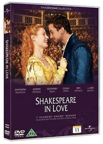 Stolthet och fördom + Shakespeare in love dubbel-DVD (beg)
